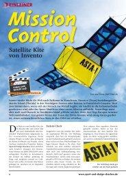Satellite Kite von Invento - Dietrich