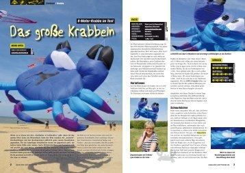 6-Meter-Krabbe im Test - Dietrichs