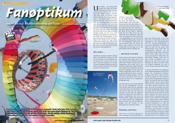 Artikel aus Sport&Design Drachen - Dietrich