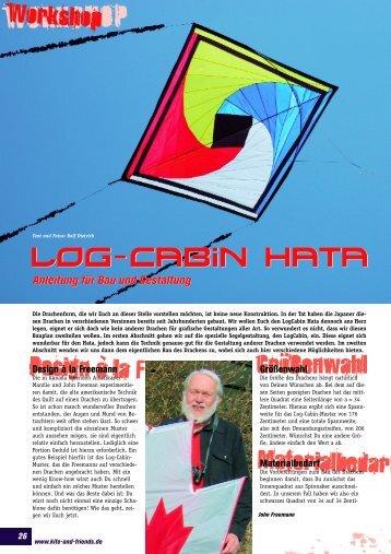 Log Cabin Hata - Dietrichs
