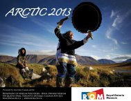Into the Arctic Brochure and Application (PDF) - Royal Ontario ...