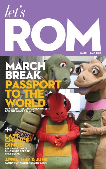 march break passport to the world + - Royal Ontario Museum