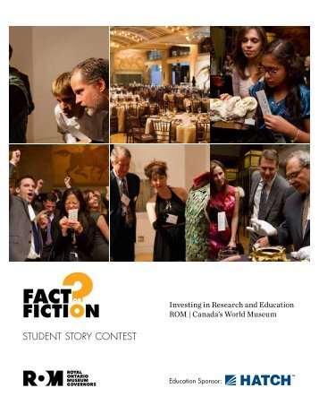 fact fiction - Royal Ontario Museum
