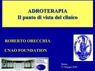 ADROTERAPIA Il punto di vista del clinico - INFN Sezione di Roma