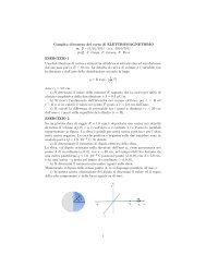 Testo 2 e soluzioni - INFN Sezione di Roma