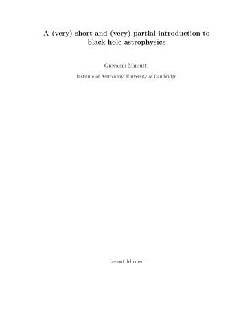 Geopolitics a very short introduction reading guide a very short and very partial introduction to black hole astrophysics fandeluxe Images
