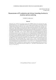 Measurements of D production and of decay branching fractions in ...