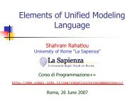 Elements of Unified Modeling Language and Object Oriented ...