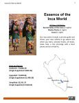 Essence of the Inca World - Andean-experience.info - Page 2