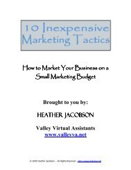 10 Inexpensive Marketing Tactics - Free Ebooks Online