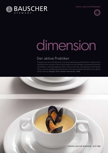 dimension - Bauscher