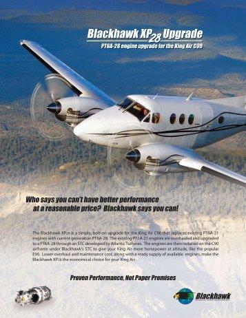 Blackhawk XP28 Engine Upgrade - Banyan Air Service