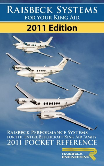 2011 Edition Raisbeck Systems - Banyan Air Service