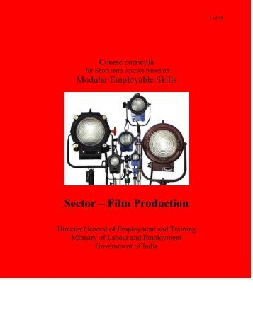 Film Production - Directorate General of Employment & Training