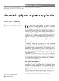 Gen tedavisi - Diagnostic and Interventional Radiology
