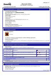 Biztonsági adatlap - Flor Kft.