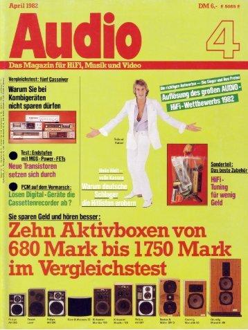 KS E-42 Test Audio  04/1982 - ASC 6000