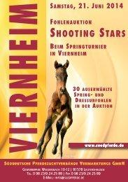 Shooting Stars - Süddt. Fohlenauktion am 21. Juni 2014  in Viernheim