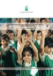 Improving Learning Achievement in Early Primary in Low-Income ...