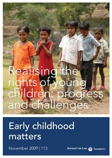 Realising the rights of young children: progress and challenges
