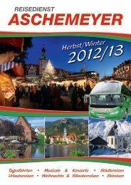 Silvesterreisen - Reisedienst Aschemeyer