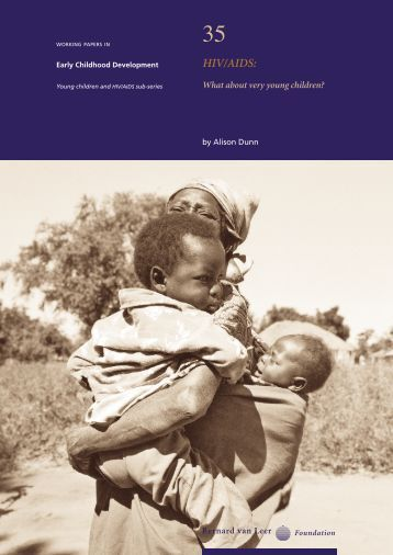 HIV/AIDS: What about very young children? - writingforsocialchange ...