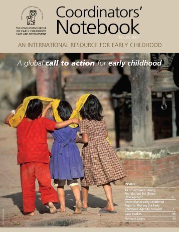 A global call to action for early childhood