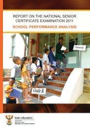 School Performance Analysis - Department of Education