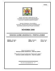 NOVEMBA 2008 - Department of Education