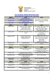 supplementary examination timetable