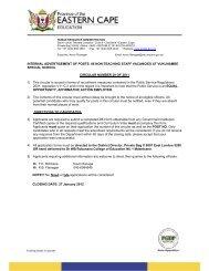 internal advertisement of posts: 06 non-teaching staff vacancies at ...