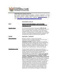 mail: llewellyn.stowman@eduecprov.gov.za - Department of Education