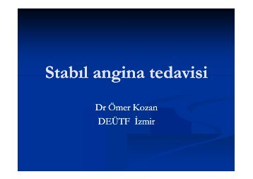 Ömer Kozan - Güncel Araştırmalar ve Çalışmalar