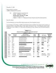 UMC Extracts Table11-1 - iapmo