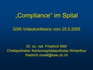 """Compliance"" im Spital"