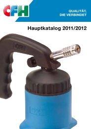 GaSlÖtGeräte - CFH Löt- und Gasgeräte GmbH