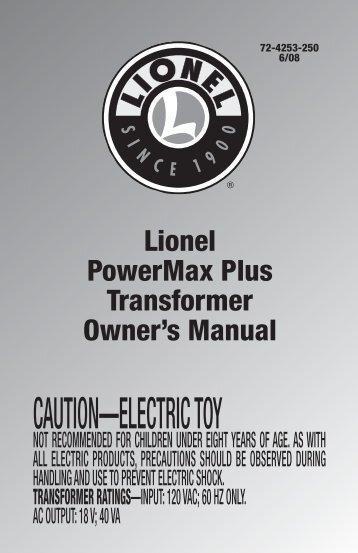 PowerMax Plus - Lionel