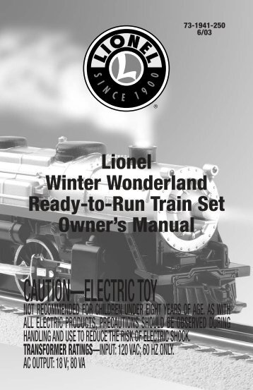Winter Wonderland Train Set - Lionel