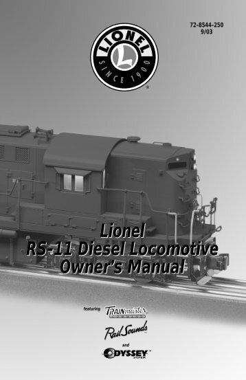 RS-11 Diesel Locomotive - Lionel