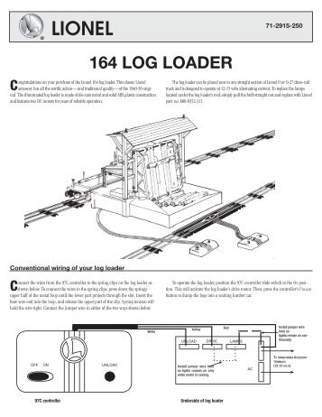 164 log loader lionel?quality=85 397 operating coal loader lionel lionel 164 log loader wiring diagram at alyssarenee.co