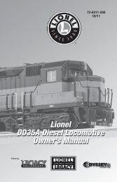 DD35A Diesel Locomotive - Lionel