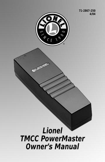 71-2867-250 TMCC PowerMaster - Lionel