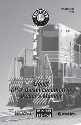 GP-7 Diesel Locomotive - Lionel