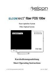 FOS 100w - Elcon Systemtechnik