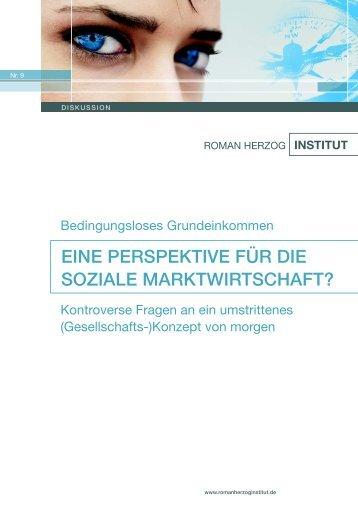 Bedingungsloses Grundeinkommen - Roman Herzog Institut