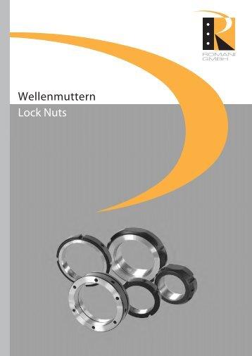 Wellenmuttern Lock Nuts - Romani GmbH