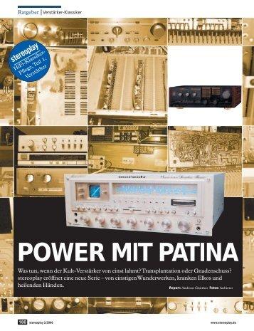 MPOWER MIT PATINA - BestVintageAudio