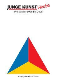 Junge Kunst - Preisträger 1996 - 2008 - BBK-Bayern