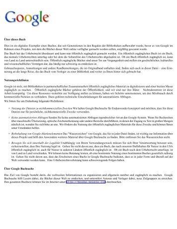 Oeuvres choisies - Institut für Romanistik