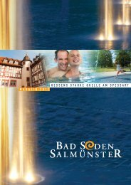 Magazin 2012 als Download-Version - Stadt Bad Soden -Salmünster